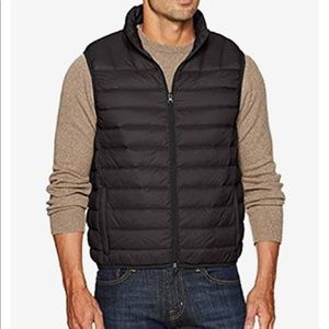 Hawke&Co packable Men's Down Vest Jacket Size L